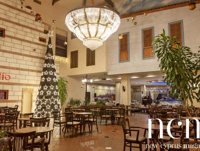 Christmas Decoration at Salamis Hotel