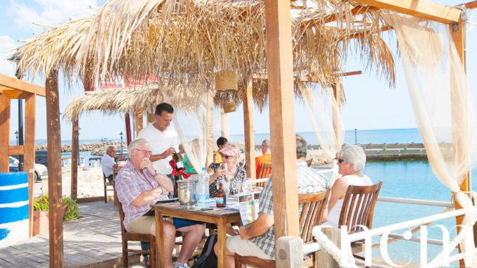 Körfez Restaurant in Bogaz Harbour