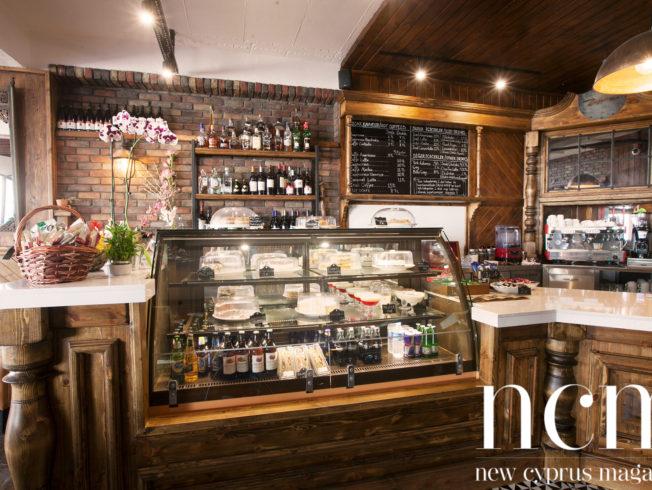 Homely Zephyr Café outskirts of Nicosia
