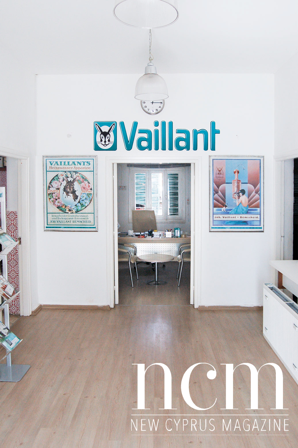 Vaillant in Nicosia sells heating systems